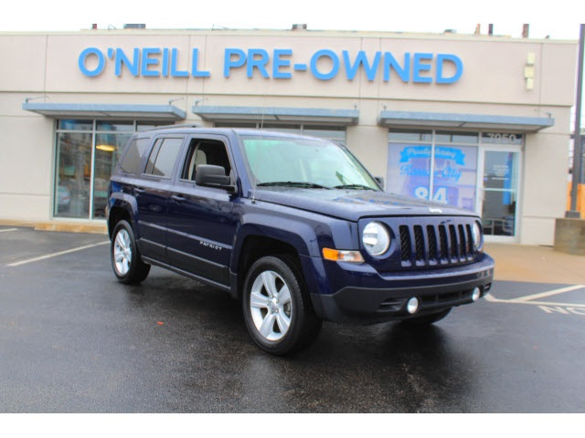 Preowned 2017 Jeep Patriot Latitude 4d Sport Utility In Overland